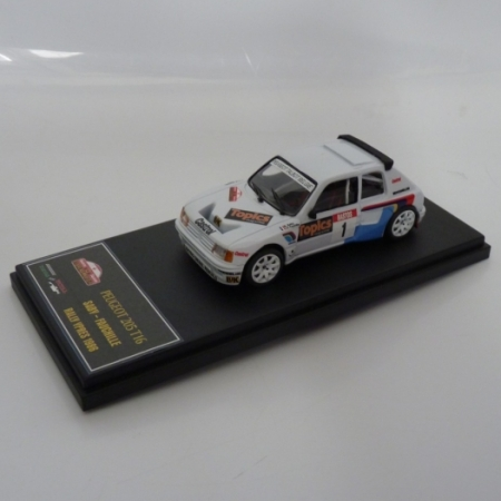 CERCHI PEUGEOT 205 TURBO 16 - SABY - RALLY YPRES 1986