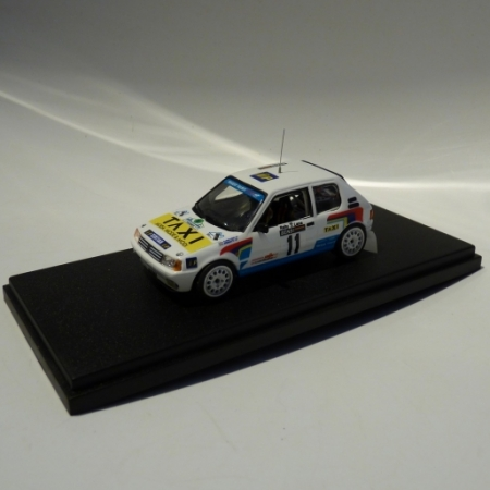 PEUGEOT 205 GTI - CAMBIAGHI - RALLY LANA 1987
