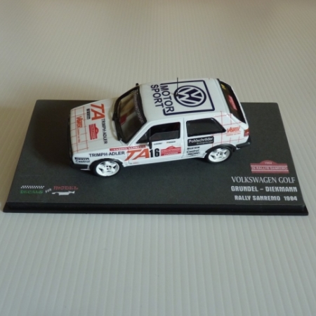 GOLF GTI - GRUNDEL - RALLY SANREMO 1984