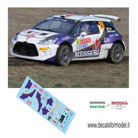 CITROEN DS3 R5 - RE - RALLY MONTECARLO 2015
