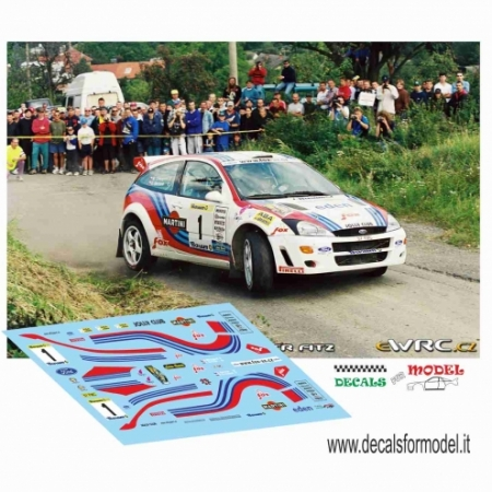 FORD FOCUS WRC - BERTONE - RALLY BARUM 2000