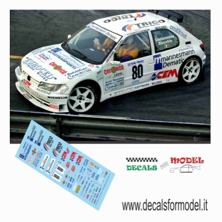 PEUGEOT 306 MAXI KIT - CANTAMESSA - RALLY MONZA 1997