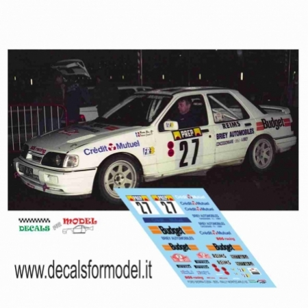 FORD SIERRA COSW. - BOS - RALLY MONTECARLO 1992