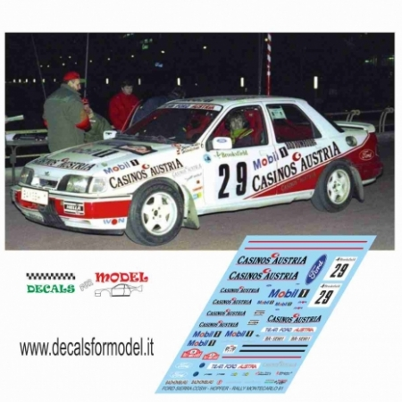 FORD SIERRA COSW. - HOPFER - RALLY MONTECARLO 1991