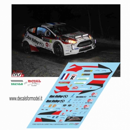 FORD FIESTA R5 - CARRET - RALLY MONTECARLO 2017