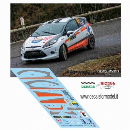 FORD FIESTA R2 - SOUFFEZ - RALLY MONTECARLO 2017