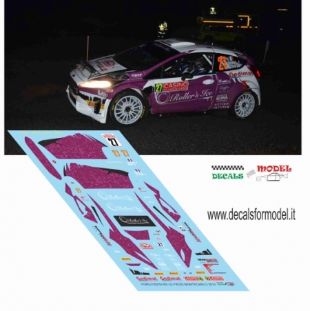 FORD FIESTA R5 - LO FIEGO - RALLY MONTECARLO 2015
