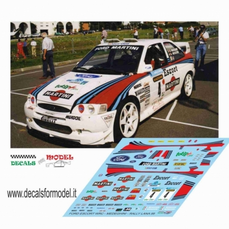 FORD ESCORT WRC MARTINI - MEDEGHINI - RALLY LANA 1998 2° ASSOLUTO