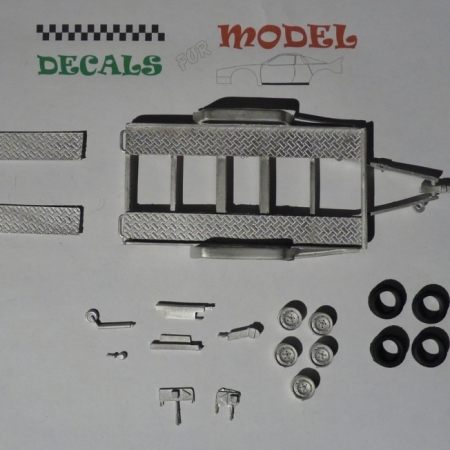 KIT 1:43 CARRELLO PER FURGONI ASSISTENZA