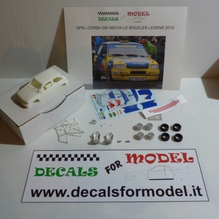 KIT OPEL CORSA GSI - NEUVILLE - BOUCLES LEGEND 2018