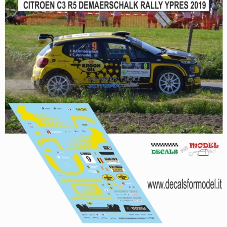 CITROEN C3 R5 - DEMAERSHALK - RALLY YPRES 2019